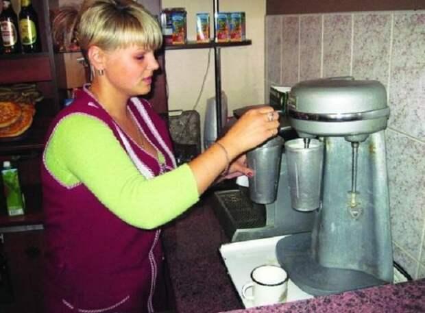 Как приготовить молочный коктейль.