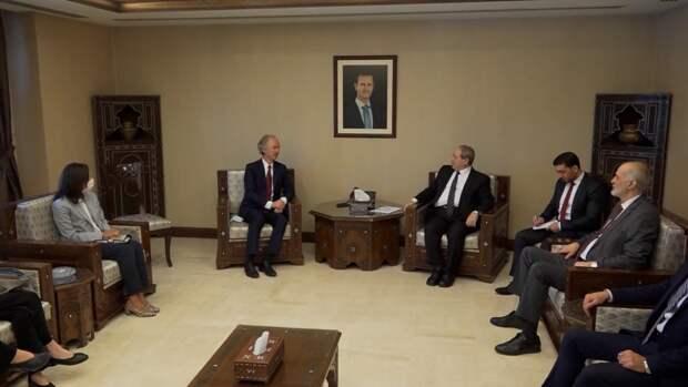 Гейр Педерсен провел встречу с «сирийской оппозицией» в Стамбуле