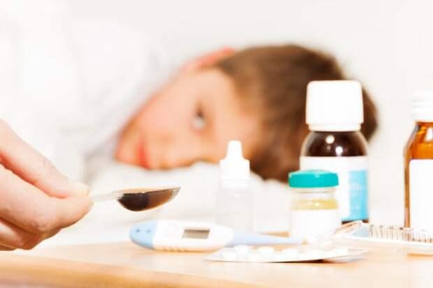 Уход за больным ребенком при простуде