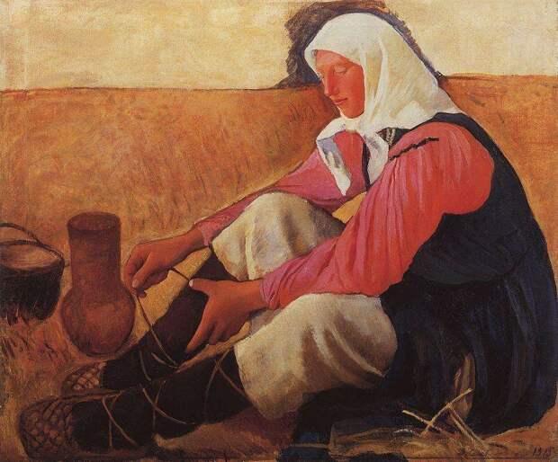 Картина Зинаиды Серебряковой.