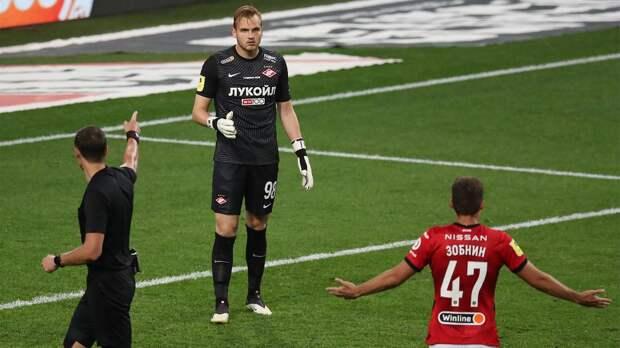 Судья скандального матча «Спартак» — «Сочи» Казарцев впервые объяснил второй пенальти в ворота красно-белых
