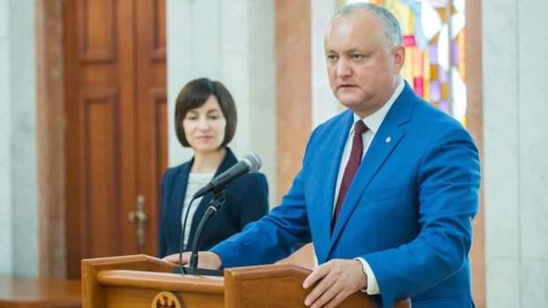 Соцпартия Молдавии потребовала отставки Санду, вменяя ей заговор против народа и государства