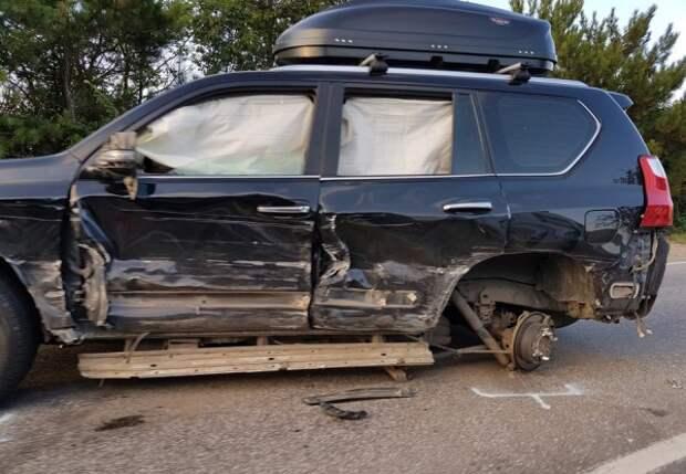 ДТП в Севастополе: в одном из автомобилей находились четыре малыша (ФОТО)
