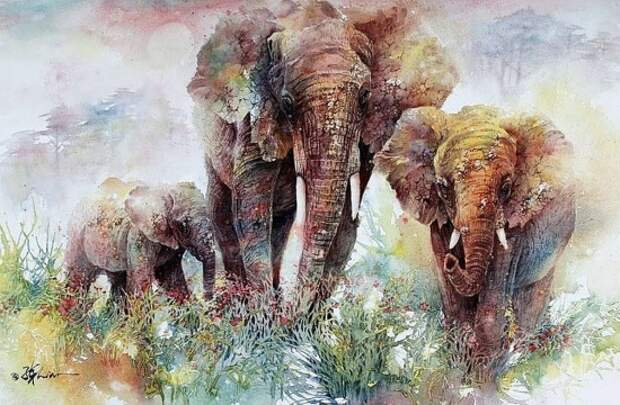 художник Lian Quan Zhen (Лиан Цюань Чжэнь) картины – 07