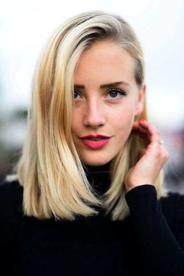 Стрижка боб каре — выигрышная внешность при тонких волосах