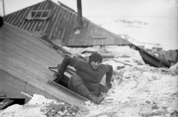 Первая Австралийская антарктическая экспедиция в фотографиях Фрэнка Хёрли 1911-1914 57