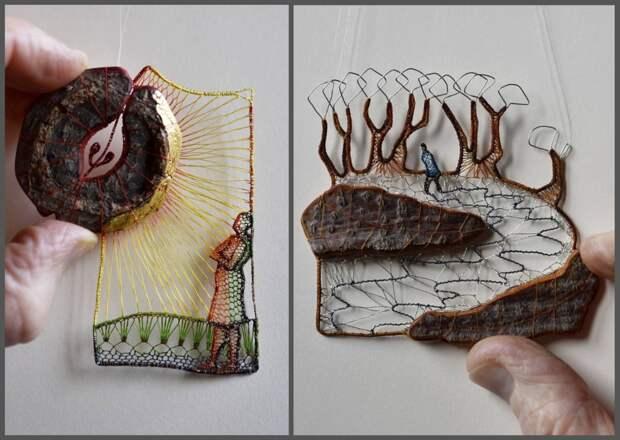 Кружевные миниатюры талантливой художницы Агнес Херцег восхищают