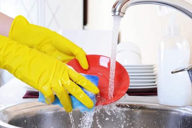 Губки для мытья посуды нужно менять раз в неделю. / Фото: zen.yandex.ru