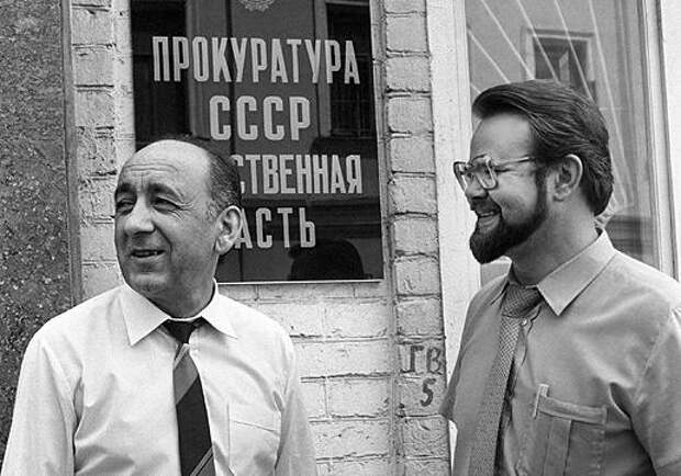 Следователи по особо важным делам Генпрокуратуры СССР Гдлян и Иванов.jpg