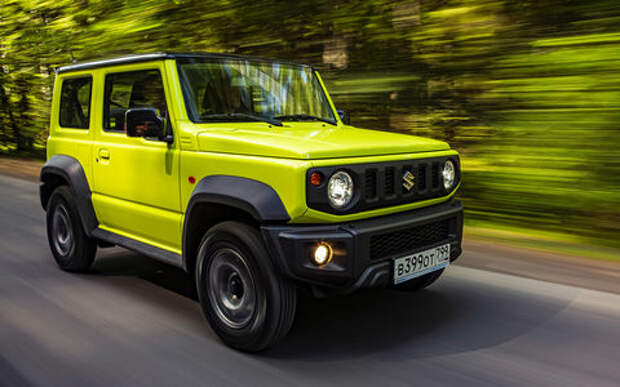 Новый Suzuki Jimny: первый тест-драйв и видео