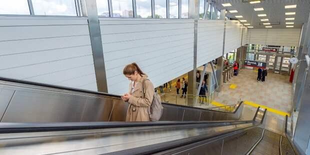 Стали известны самые популярные станции МЦД в приложении «Метро Москвы»