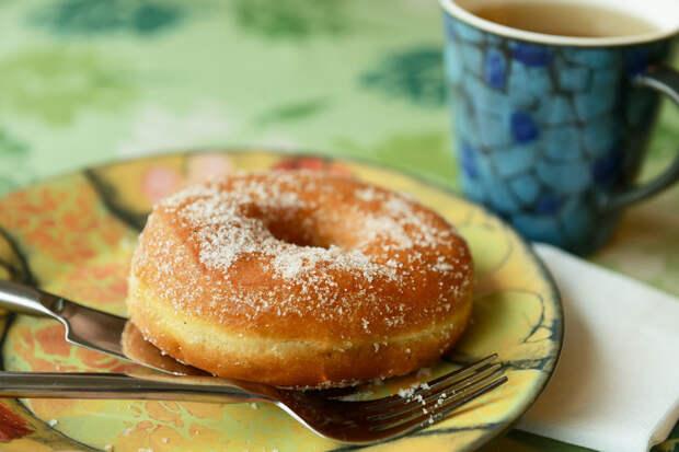 Кефирные пончики