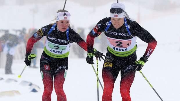 Сборная Норвегии выиграла женскую эстафету в Лахти, Россия — 4-я