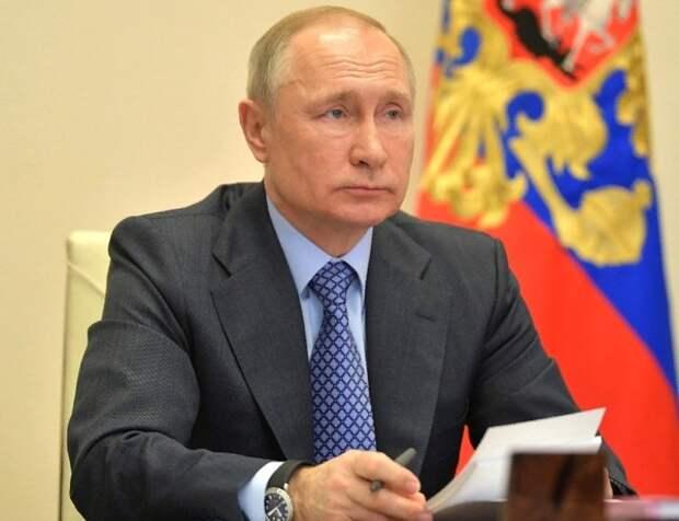 Путин: распространение вируса удалось притормозить, но пик ещё не достигнут