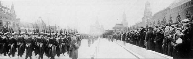 Парад на Красной площади 7 ноября 1941 года Велика Отечественная война, История Родины, СССР