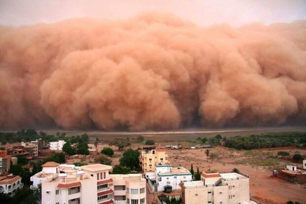 Гигантские песчаные бури… (15 фото)