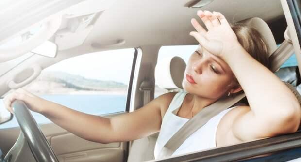 Почему в жару не нужно открывать окна в машине?