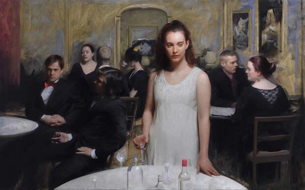 Современный классик живописи Ник Альм: «Яобращаюсь, прежде всего, квнутреннему миру»