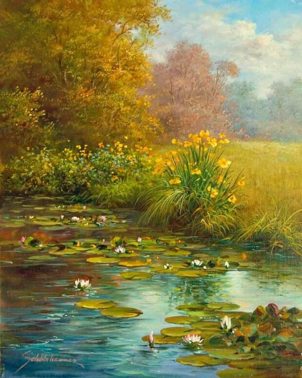 Удивительный мир природы глазами живописца из Австрии Хайнца Шольнхаммера