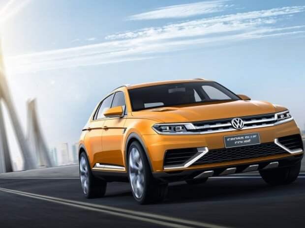 Volkswagen покажет в Детройте новый большой кроссовер