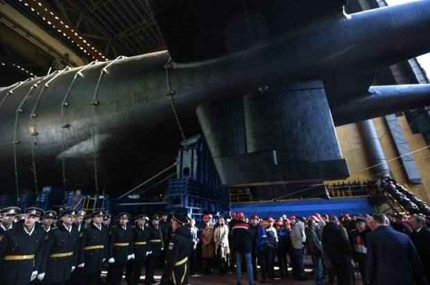 В США оценили российскую подлодку с «торпедами Судного дня»