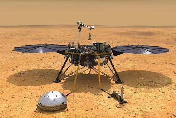 Данные зонда InSight раскрыли структуру коры Марса