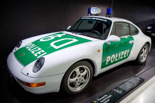 Лучшие полицейские машины мира