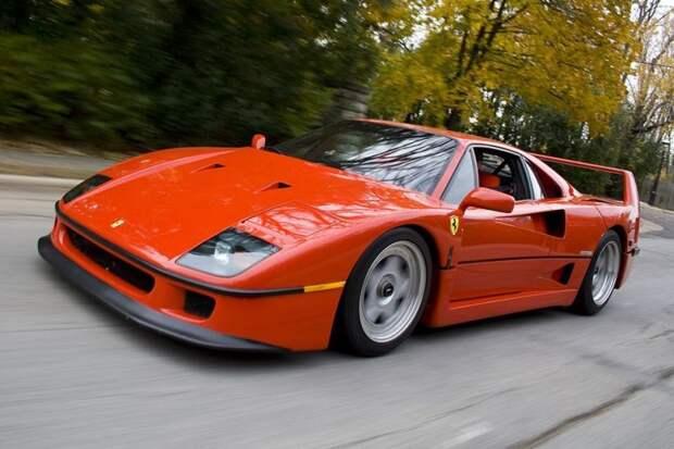 Ferrari F40 авто, автодизайн, америка, бампер, безопасность, накладка, спорткар, суперкар