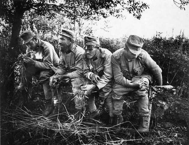 Во время Первой мировой войны солдаты жили в окопах, это было грязно и шумно война, интересно, люди, нужда, окопы, туалет, факты