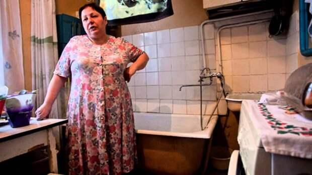 Почему в сталинских домах делали ванну на кухне