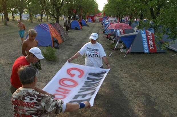 Украину не возьмут в НАТО, но ее территорию можно использовать и без членства