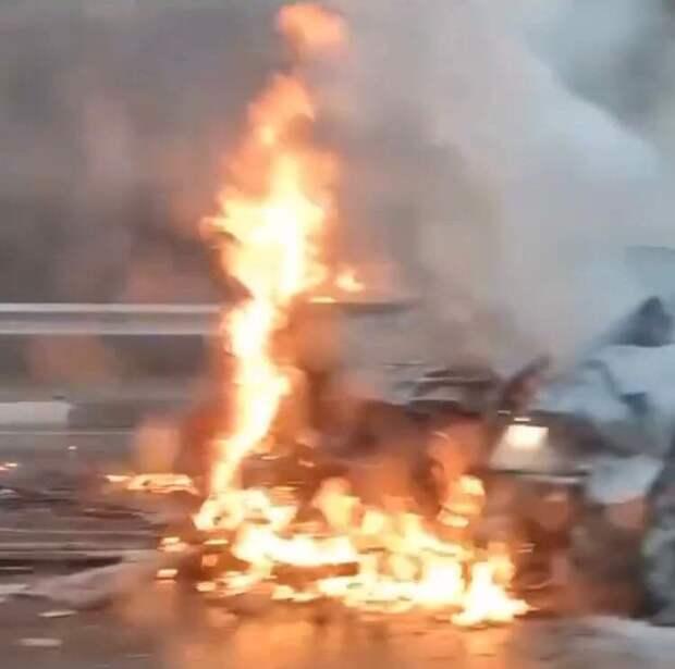 На дороге Севастополь-Ялта в результате столкновения двух машин погиб водитель