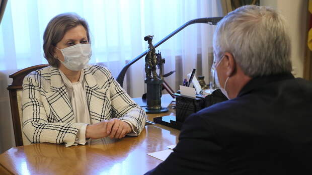 Главный санврач РФ Анна Попова оценила ситуацию с коронавирусом в Ростовской области