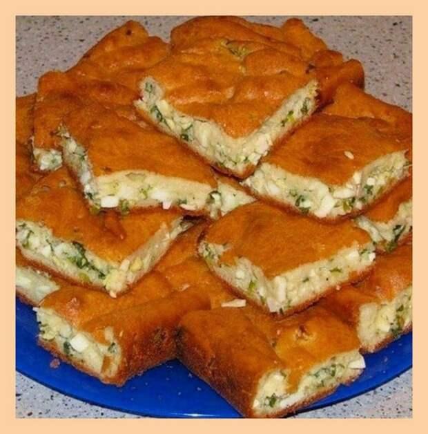 ЗАЛИВНОЙ пирог на майонезе