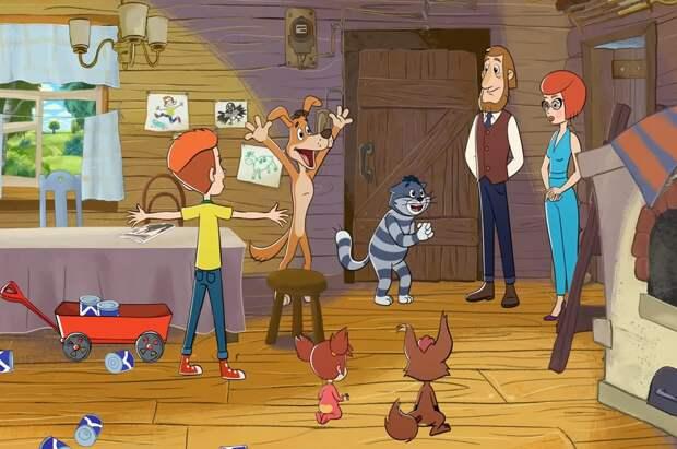 «Союзмультфильм» создал новые серии «Простоквашино» и «Оранжевой коровы» во время карантина