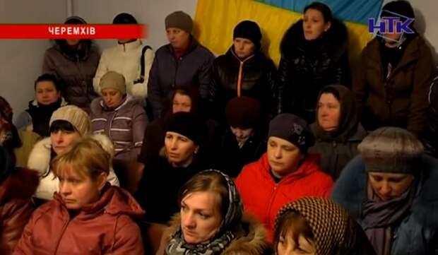 Народные бунты против четвёртой волны мобилизации начались на Западной Украине