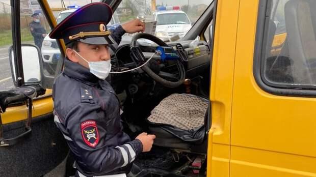 Более 50 неисправных автобусов выявили вовремя рейдов наСтаврополье