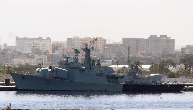 Турецкое судно было остановлено в ливийских национальных водах