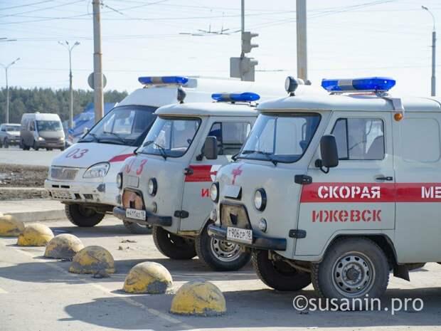 Парк автомобилей «скорой» Удмуртии пополнился еще 6 машинами