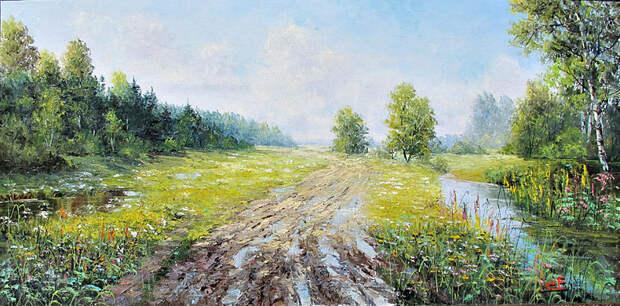 Евгений Синев.После дождя