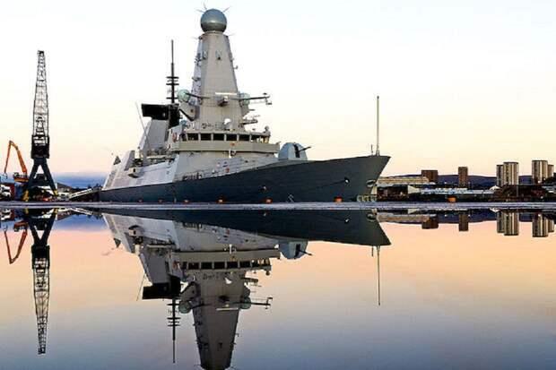 У Великобритании есть один боеготовый эсминец