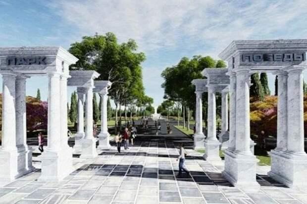 Подробности реконструкции парка Победы