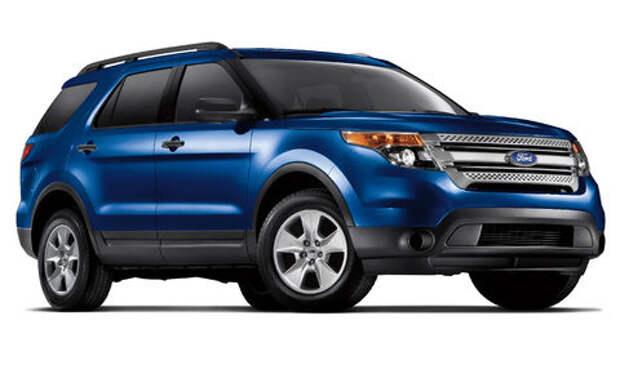 Задняя подвеска кроссовера Ford Explorer может развалиться – объявлен отзыв
