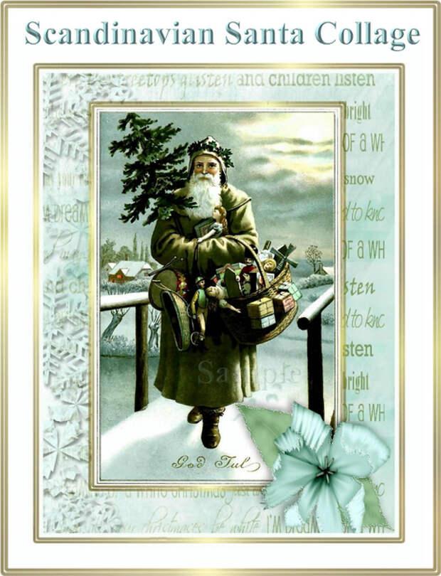 Vintage_Scandinavian_Santa_Christmas_Collage_Sample (535x700, 354Kb)