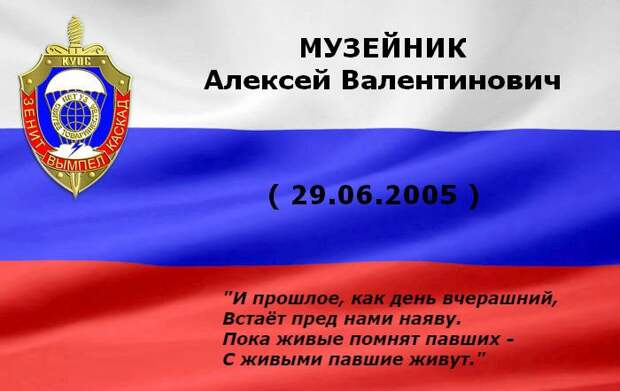 МУЗЕЙНИК Алексей Валентинович