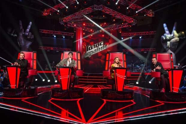 Украинцам не понравился новый состав жюри шоу «Голос»