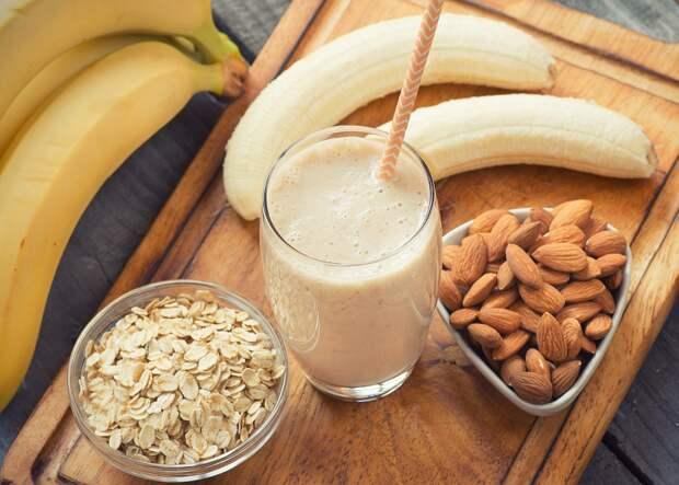 банановый смузи для похудения