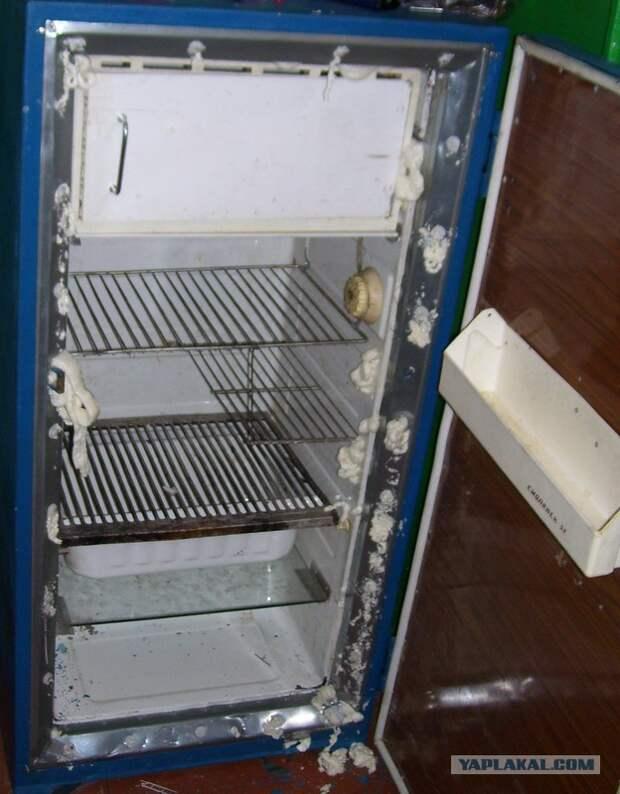 Мелкий косметический ремонт старого холодильника