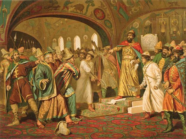Как русские правители ставили на место западных монархов