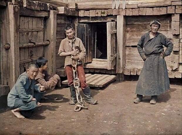 Монгольский преступник, 1913 год. Весь Мир, история, фотографии